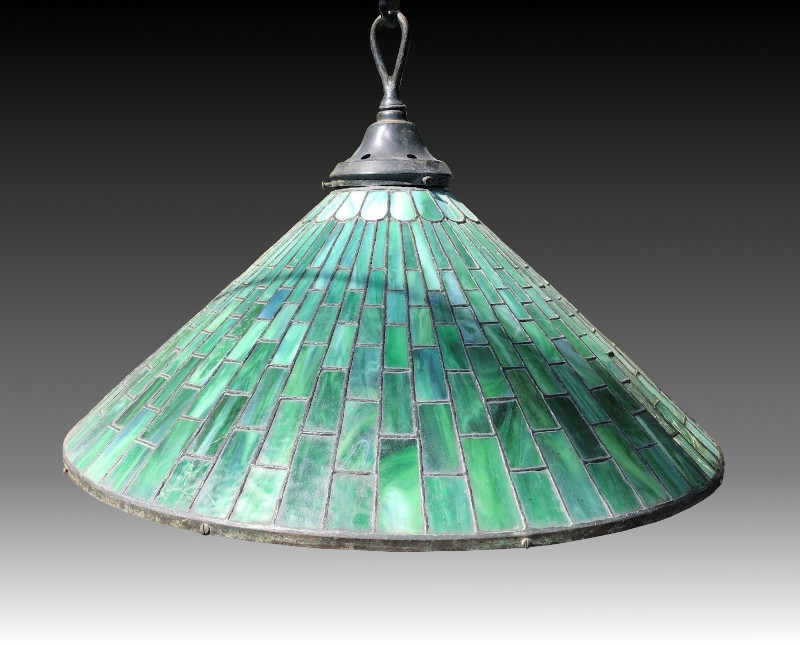 Whaley leaded chandelier
