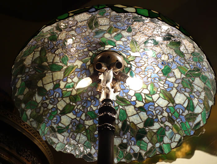 Williamson Leaded Glass Floor Lamp