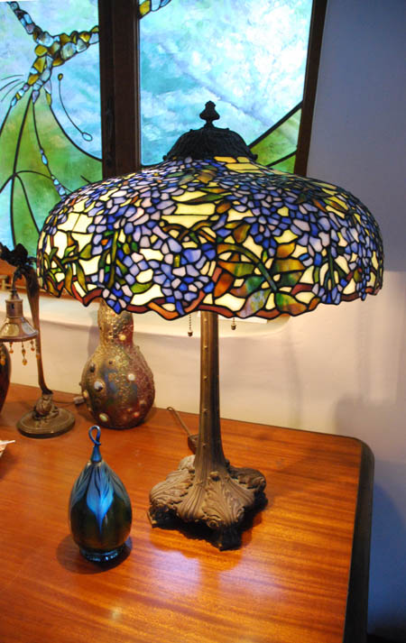 Duffner & Kimberly Wisteria Table Lamp