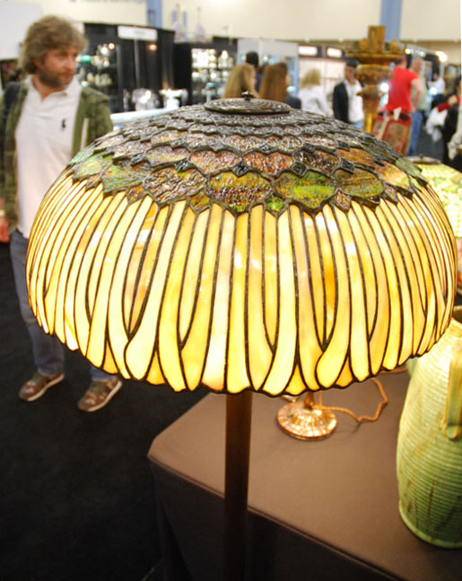 Bigelow, Kennard & Company, Sunflower Floor Lamp