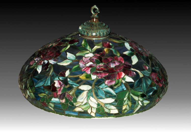 Duffner & Kimberly, early floral chandelier