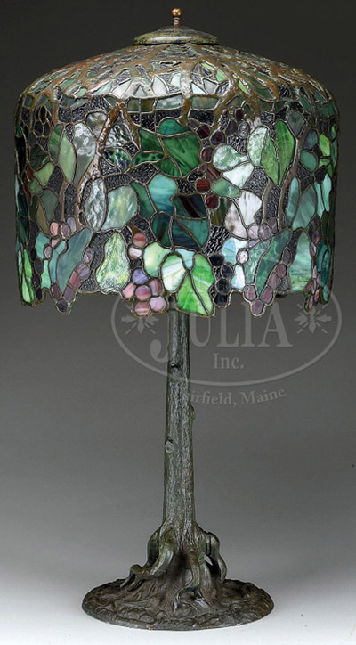 Unique Grape Table Lamp