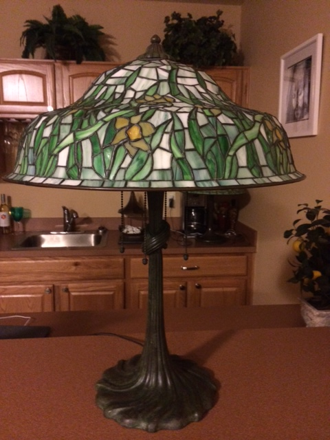 Gorham Daffodil Table lamp
