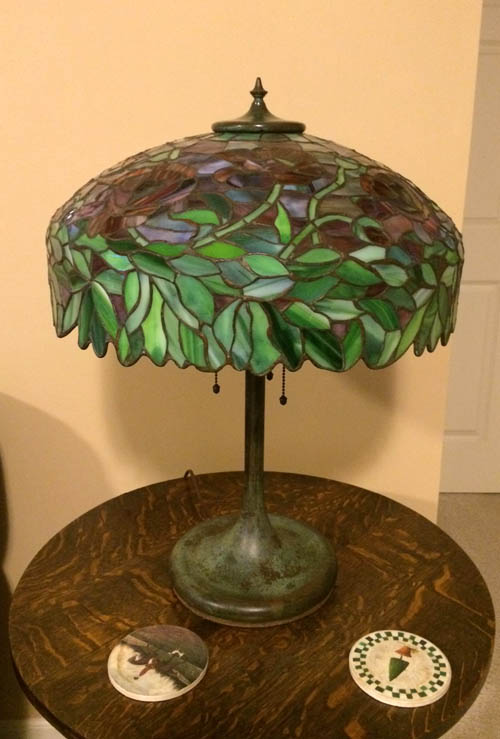 Unique Oriental Poppy Table lamp