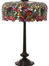 J.A Whaley Floral Table Lamp
