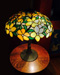 Suess Ornamental Yellow Peony Table Lamp
